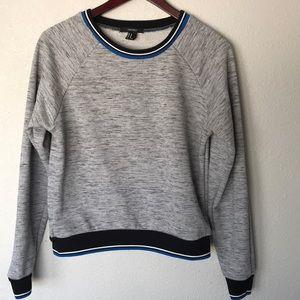 Forever 21 marled grey sweatshirt